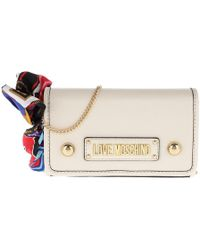 Versace Jeans Crossbody Logo Lettering Gold Nero in Metallic - Lyst 95e986db3924f