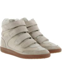 Étoile Isabel Marant - Bilsy Vintage Trainers Faded Ecru - Lyst