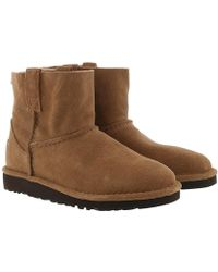 UGG - W Classic Unlined Mini Boots Chestnut - Lyst