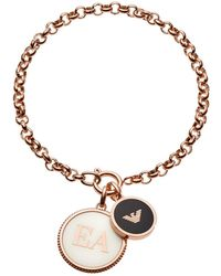 Emporio Armani - Egs2583221 Bracelet Roségold - Lyst