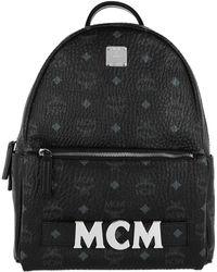 MCM - Trio Stark Backpack Small Black - Lyst
