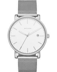 Skagen - Hagen Milanaise Men's Watch - Lyst