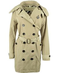 Burberry - Brit Balmoral Trench Coat Sisal - Lyst