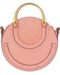 Chloé - Pixie Small Shoulder Bag Ideal Blush - Lyst