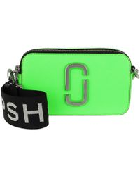 Marc Jacobs - Fluorescent Snapshot Camera Bag Small Bright Green - Lyst