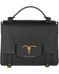 Polo Ralph Lauren - Montana Sm Handle Bag Medium Black - Lyst