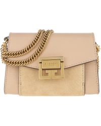Givenchy Nude Leather Pandora Box Mini Bag in Pink - Lyst 412a451737a23