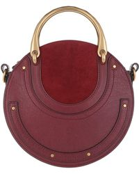 Chloé - Pixie Small Shoulder Bag Sienna Red - Lyst