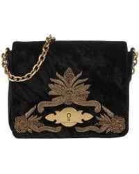 Polo Ralph Lauren Brooke Chain Crossbody Bag Small Black in Black - Lyst e5cdeff355