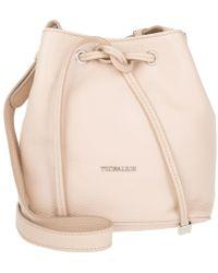 Tru Trussardi - Dollarino Bucket Bag S Cipria - Lyst