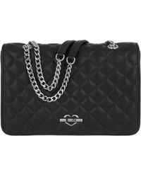 Love Moschino - Quilted Nappa Chain Crossbody Bag Nero - Lyst