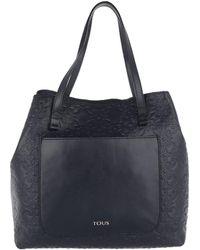 Tous - Capazo Mossaic Tote Bag Marine Blue - Lyst