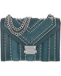 Michael Kors - Whitney Lg Shoulder Bag Luxe Teal - Lyst