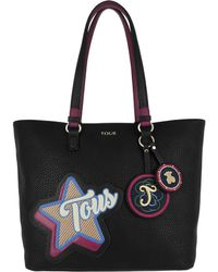 Tous - Capazo Patch Medallion Black - Lyst