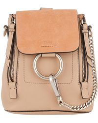 Chloé - Faye Backpack Blush Nude - Lyst