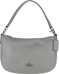 COACH - Polished Pebbled Leather Chelsea Crossbody Bag Heather Grey - Lyst