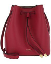 00c0da09c0749 Lauren by Ralph Lauren - Dryden Debby Ii Drawstring Mini Crimson truffle -  Lyst