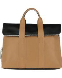e0447c8e00 Céline Trapeze Bag Small Nude in Natural - Lyst
