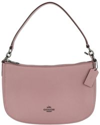 COACH | Chelsea Pebbled Leather Crossbody Bag Dusty Rose | Lyst