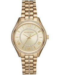 Michael Kors - Ladies Lauryn Watch Gold - Lyst