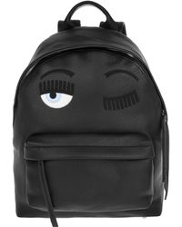 d523e401489c Armani Jeans Reptile Black Eco Leather Backpack in Black - Lyst