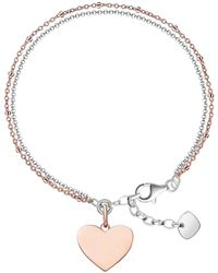 Thomas Sabo - Love Bridge Engravable Heart Bracelet - Lyst