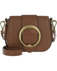 7206dba99a Polo Ralph Lauren - Adria Saddle Bag Small Saddle - Lyst