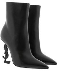 Saint Laurent - Opyum Ankle Boots - Lyst