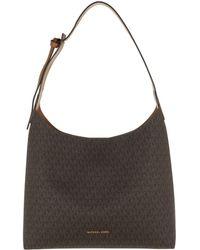 e18c5774a2 Michael Kors Medium Junie Pebbled Black Leather Shoulder Bag in ...