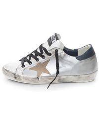 Golden Goose Deluxe Brand Super Star Sneaker - Lyst