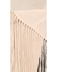 ThePerfext - Joan Cashmere Cape - Natural - Lyst