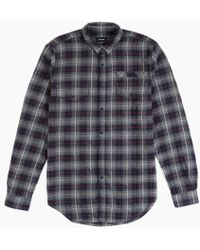 Stampd | Plaid Flannel Shirt | Lyst