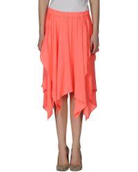 Anne Valerie Hash   Knee Length Skirt   Lyst