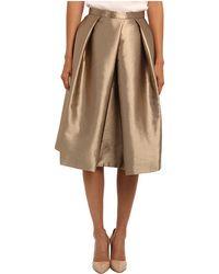 Tibi Halcyon Taffeta Full Skirt - Lyst