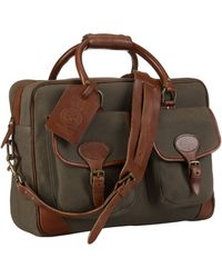 Polo Ralph Lauren - Canvas Leather Commuter Bag - Lyst