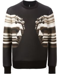 Neil Barrett Digitally Printed Sweatshirt - Lyst