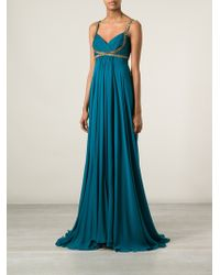 Notte By Marchesa Embellished Evening Dress - Lyst