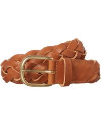 Linea Weekend Delta Plate Belt - Lyst