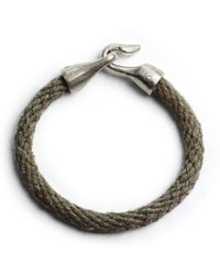 Lulu Frost G Frost Harpoon Bracelet  Olivewhite Bronze - Lyst