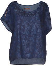 7 For All Mankind Denim Shirt - Lyst