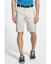 Nike Flat Front Golf Shorts - Lyst