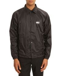 Obey New York Capsule Collection Coach Jacket - Lyst