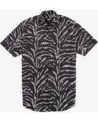 Zanerobe Ikat S/S Shirt black - Lyst