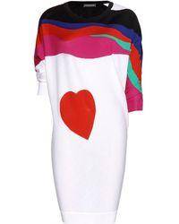 Alexander McQueen Wool Sweater Dress - Lyst