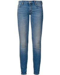 Mother 'The Looker' Slim Jeans - Lyst
