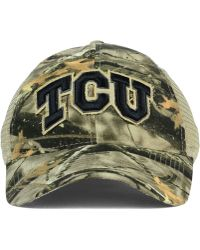 Legacy Athletic - Tcu Horned Frogs Lost Camo Script Trucker Cap - Lyst