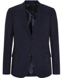 Alexander McQueen Skull Jacquard Jacket - Lyst