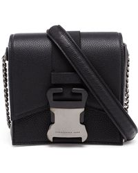 Christopher Kane Grained Leather Safety Buckle Bag - Lyst