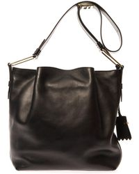 Tod's Flower Medium Leather Bag - Lyst