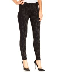 Miraclesuit | Shaping Mixed-media Jacquard Leggings | Lyst